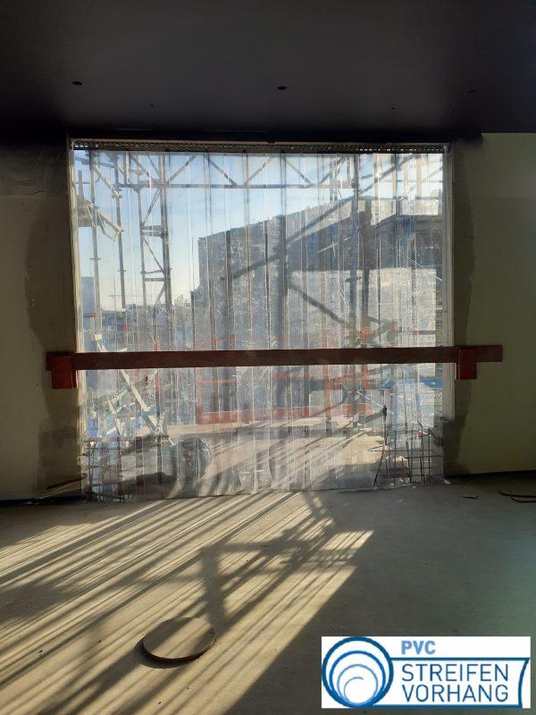PVC Streifenvorhang glasklar