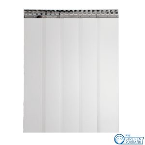 PVC Streifenvorhang mattiert