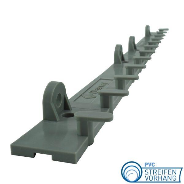 PVC Lamellenvorhang Aufhängung Kunststoff