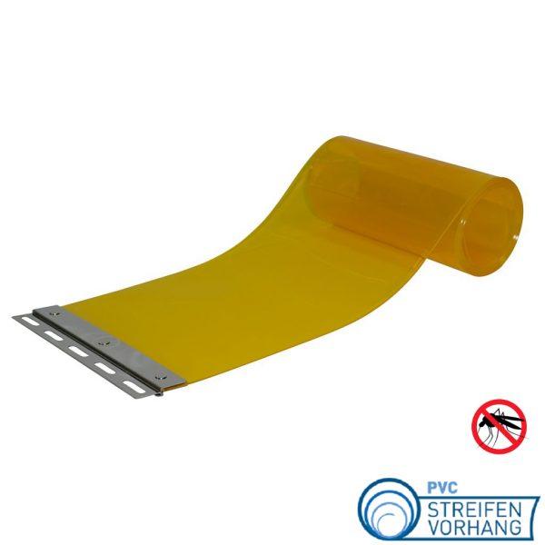 PVC Ersatzstreifen Stallvorhang gelbtransparent