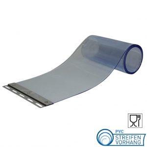 PVC Ersatzstreifen für Lebensmittel transparent