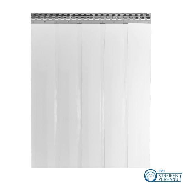 PVC Lamellenvorhang glasklar