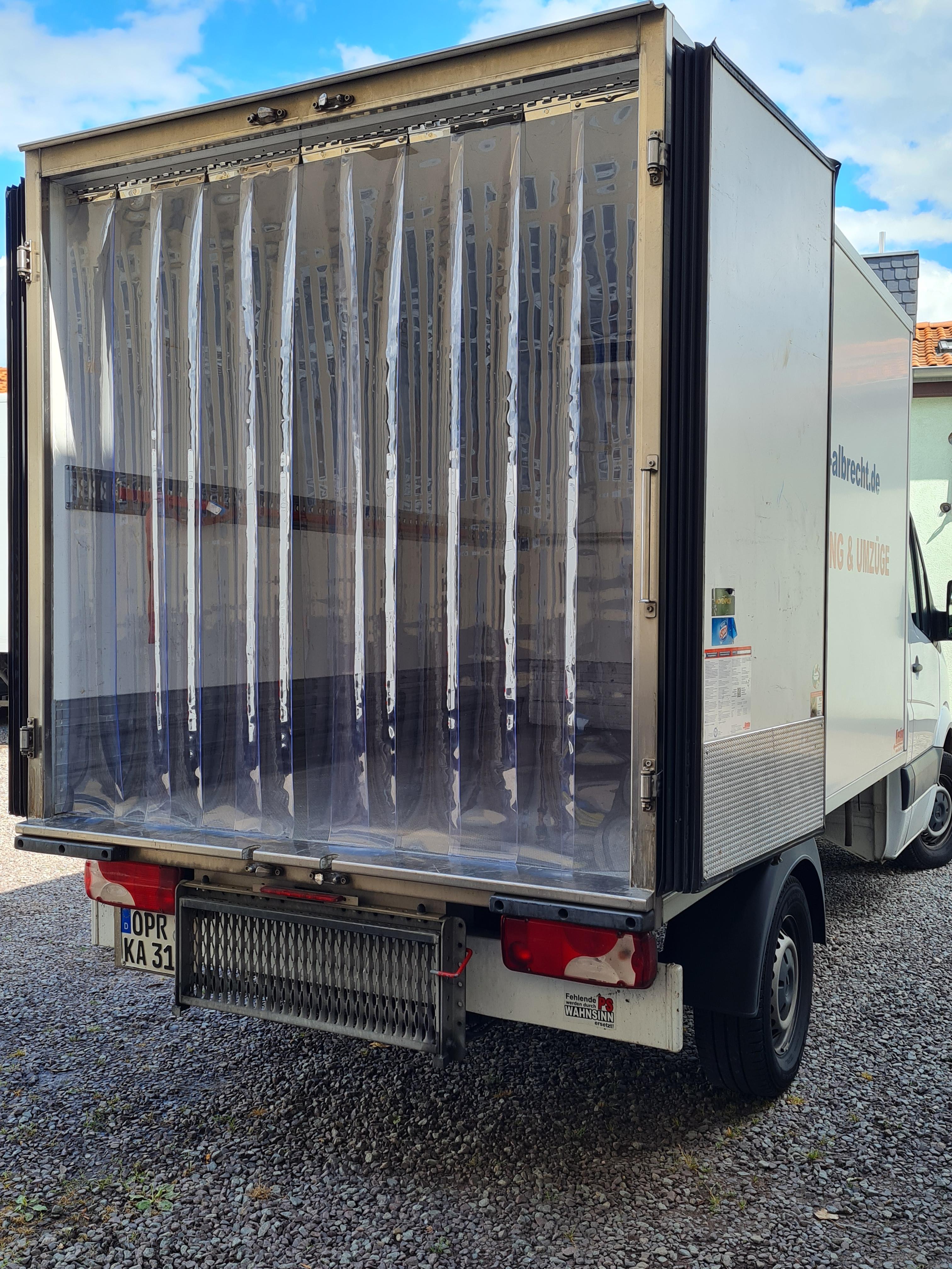pvc streifenvorhang Kühlfahrzeug